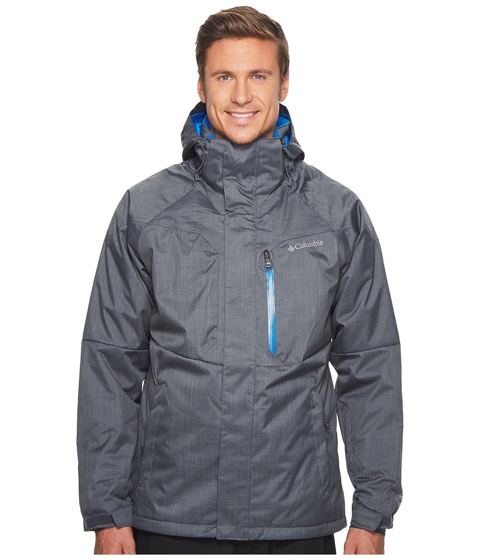 Columbia Alpine Actiontm Jacket (Graphite/Super Blue) Men...