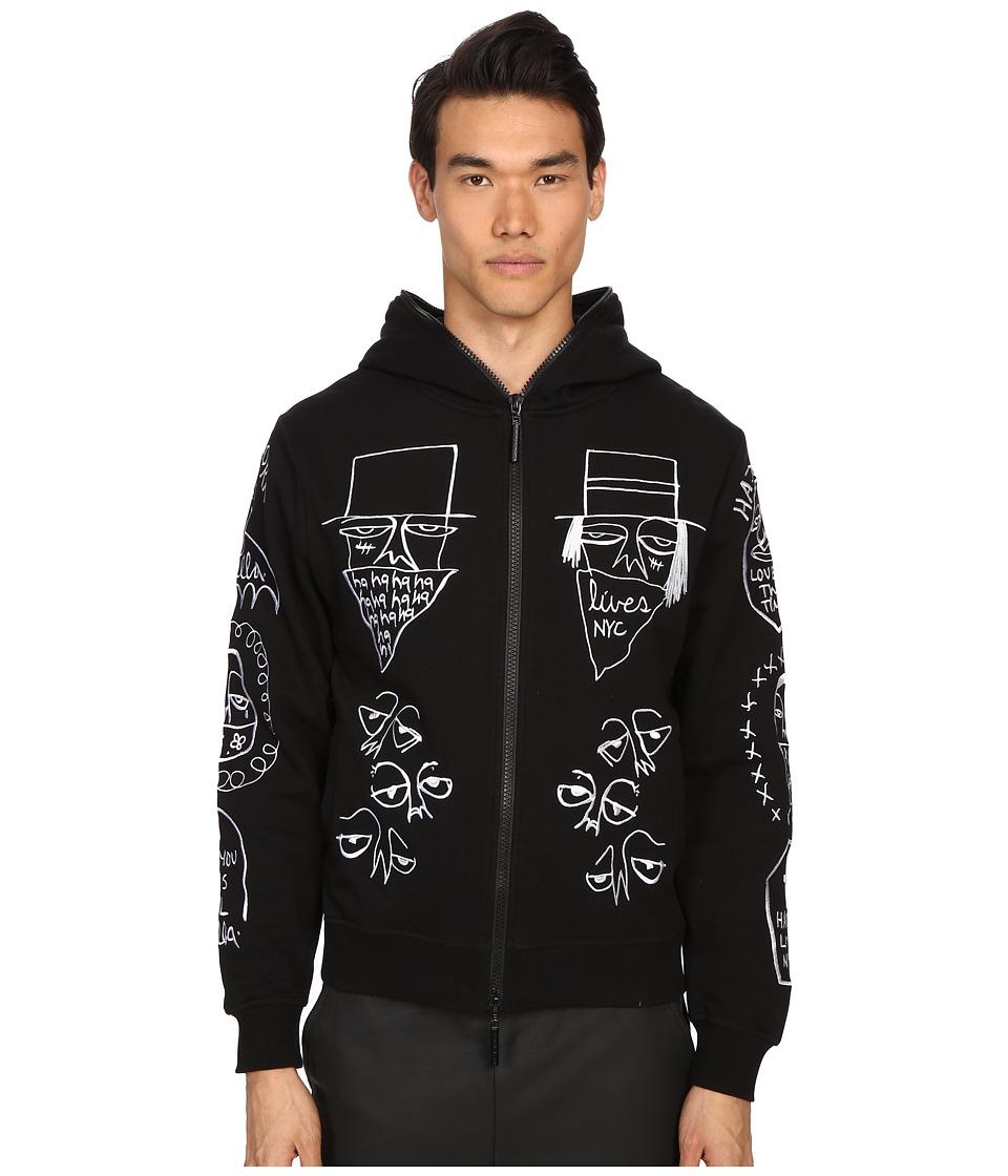 Haculla NYC Tribe Hoodie Black Mens Sweatshirt