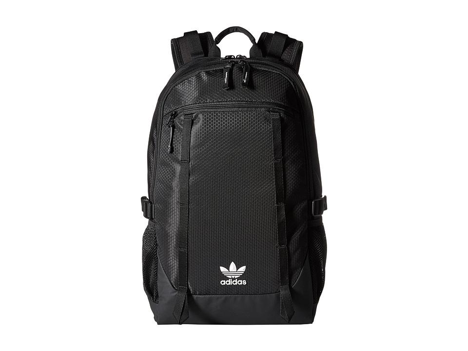 adidas - Originals Create Backpack (Black Triangle Emboss) Backpack Bags
