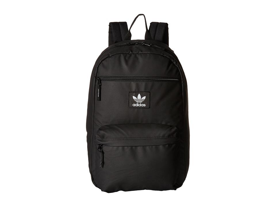 adidas - Originals National Plus Backpack (Black/Deepest Space) Backpack Bags