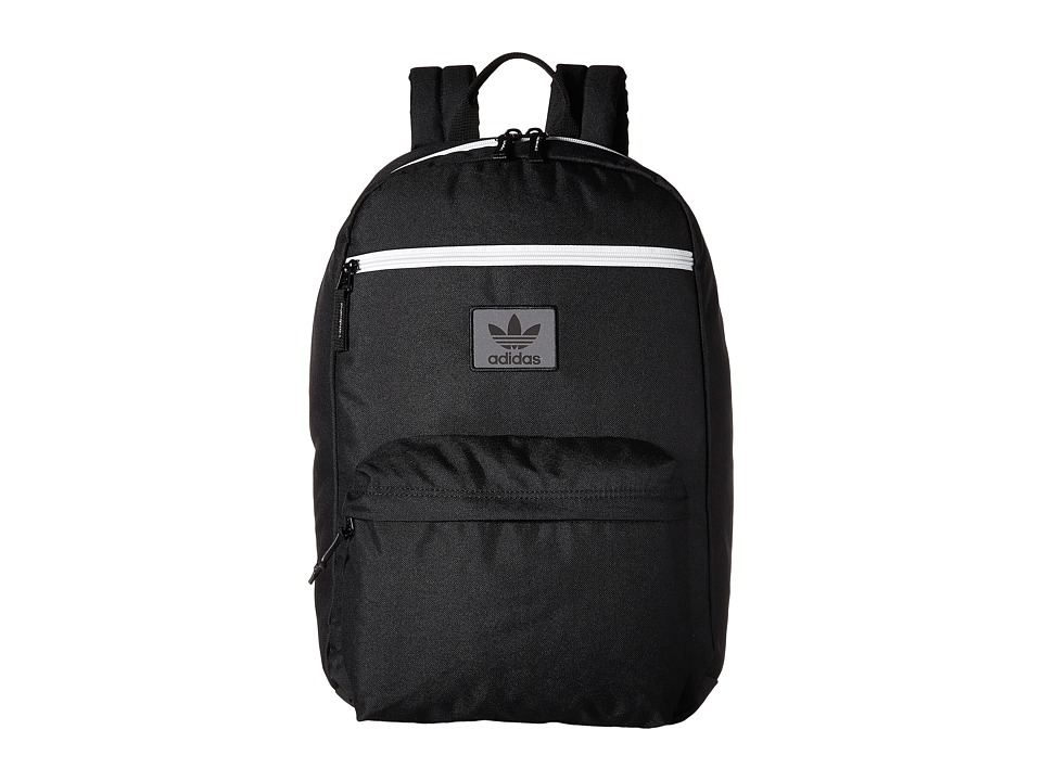 adidas - Originals National Backpack (Black/Neo White) Backpack Bags