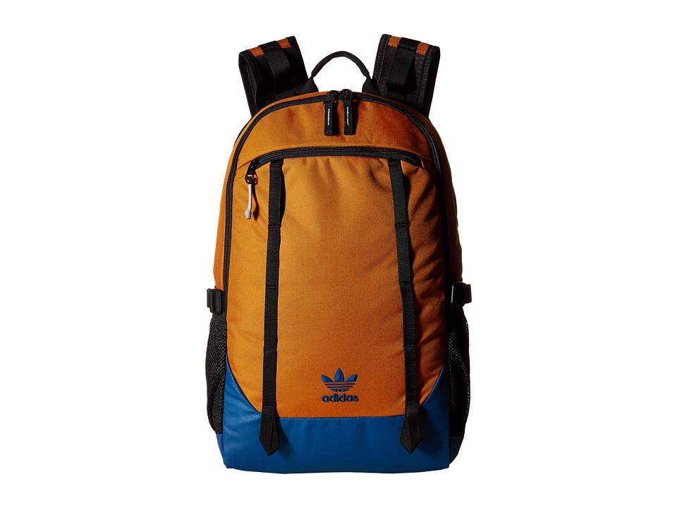 adidas - Originals Create Backpack (Craft Ochre/Grey/Solar Orange/Ice Green) Backpack Bags