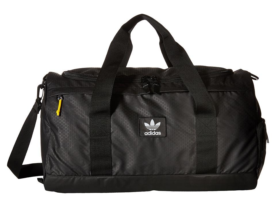 adidas - Originals National Duffel (Black) Duffel Bags