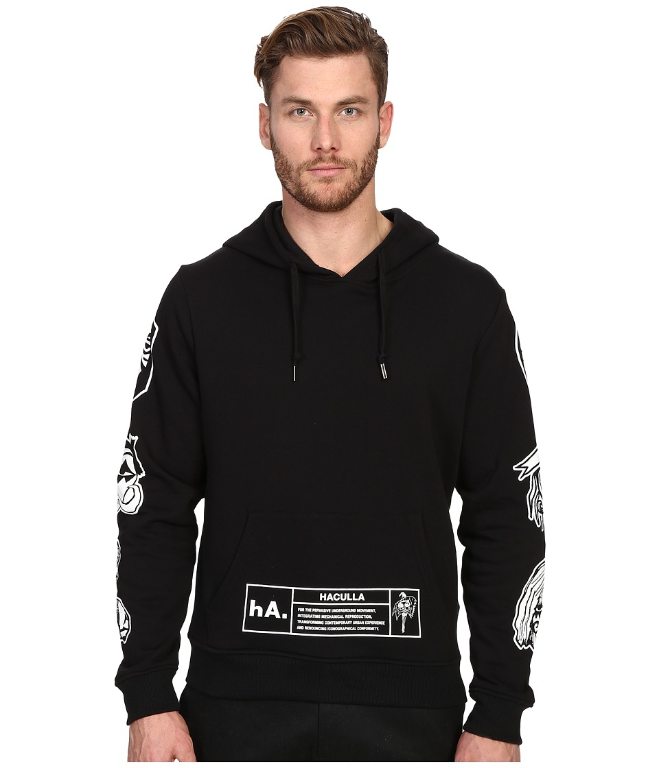 Haculla NYC Hoodie Black Mens Sweatshirt