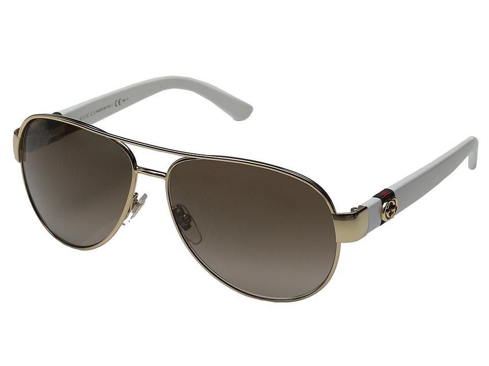 Gucci GG 4282/S Gold White/Brown Gradient Fashion Sunglasses