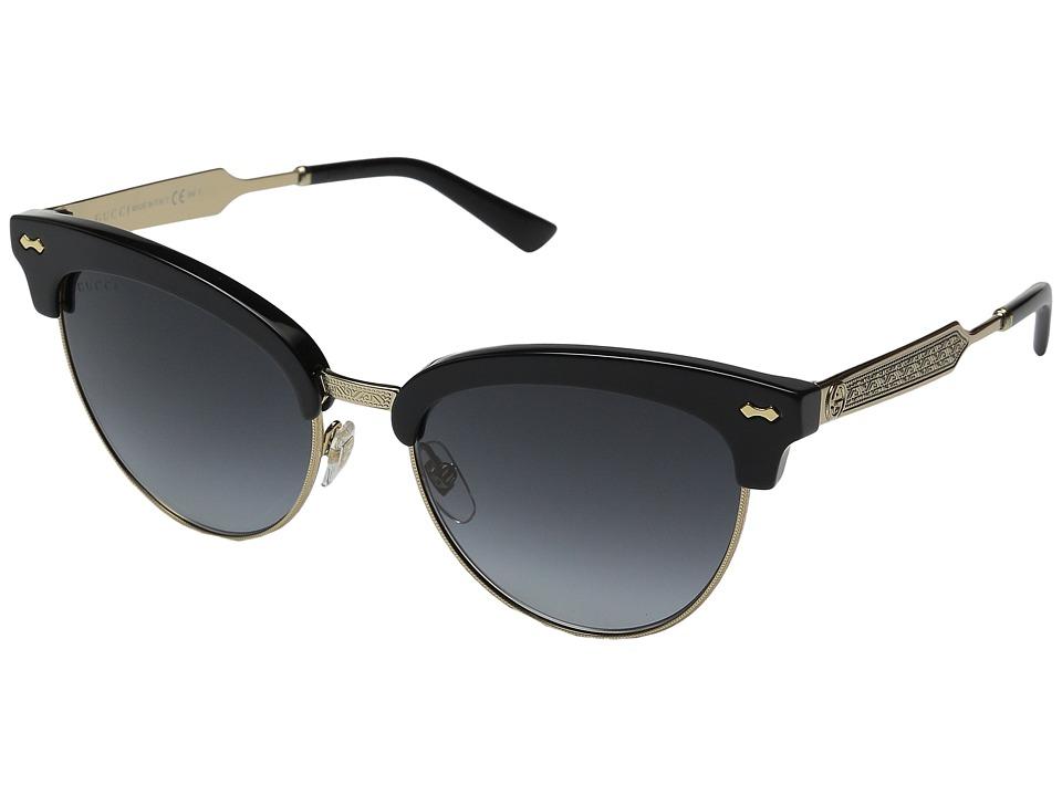 Gucci GG 4283/S Black Gold/Dark Gray Gradient Fashion Sunglasses