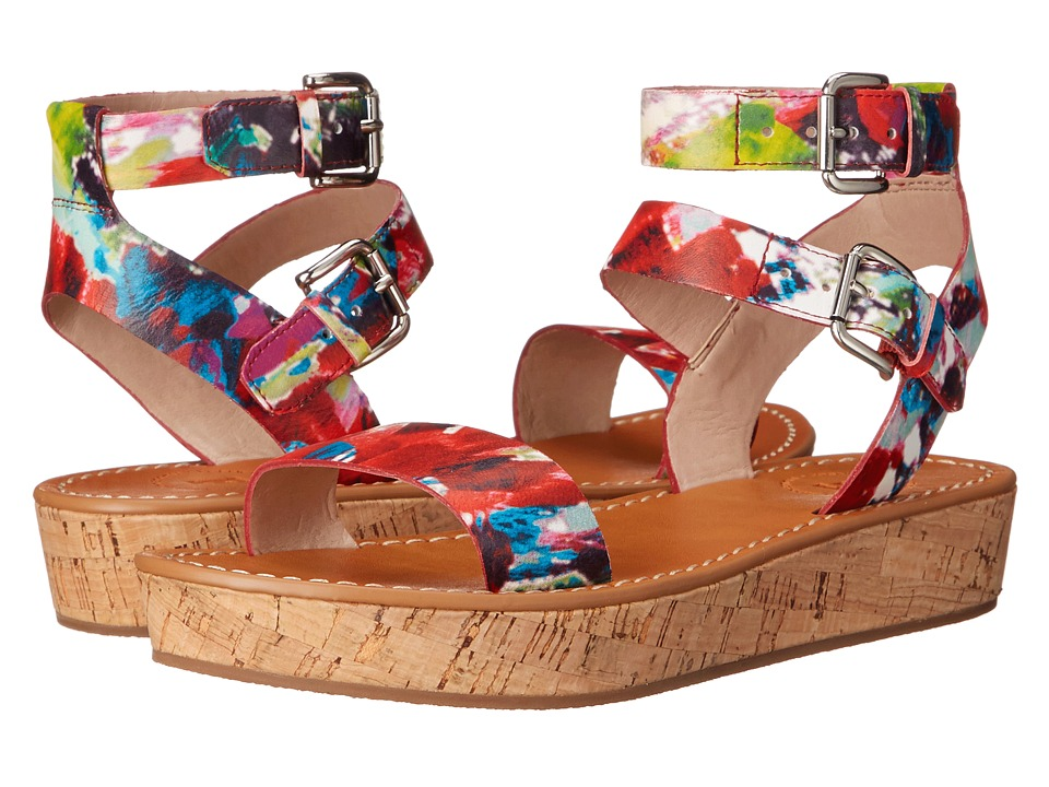 French Connection Jaclyn Fracture Floral Womens Shoes
