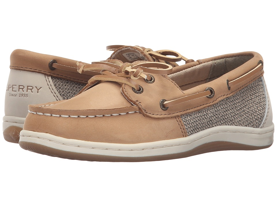 Sperry Kids Firefish (Little Kid/Big Kid) (Linen/Oat) Girl's Shoes