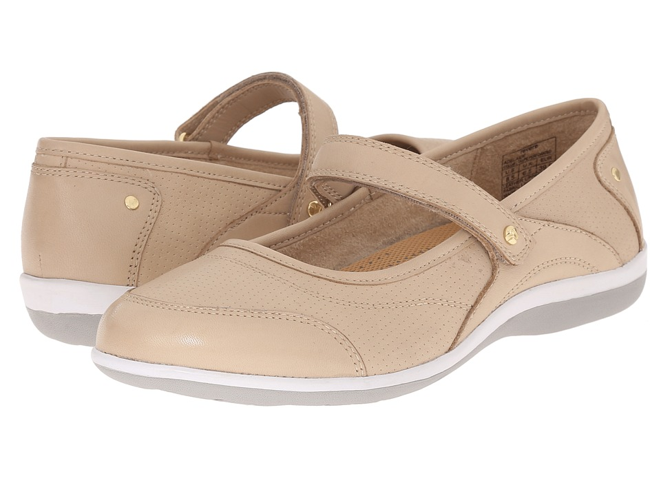 Revere Adelaide Taupe Womens Flat Shoes