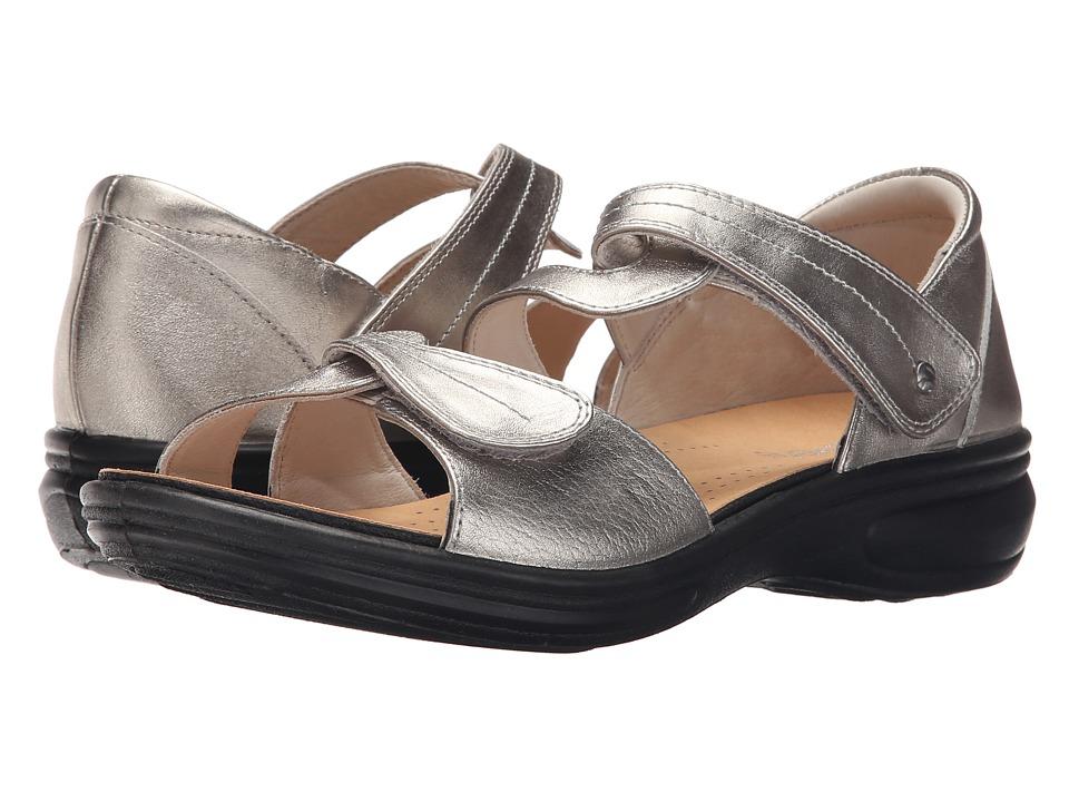Revere Geneva Pewter Womens Flat Shoes
