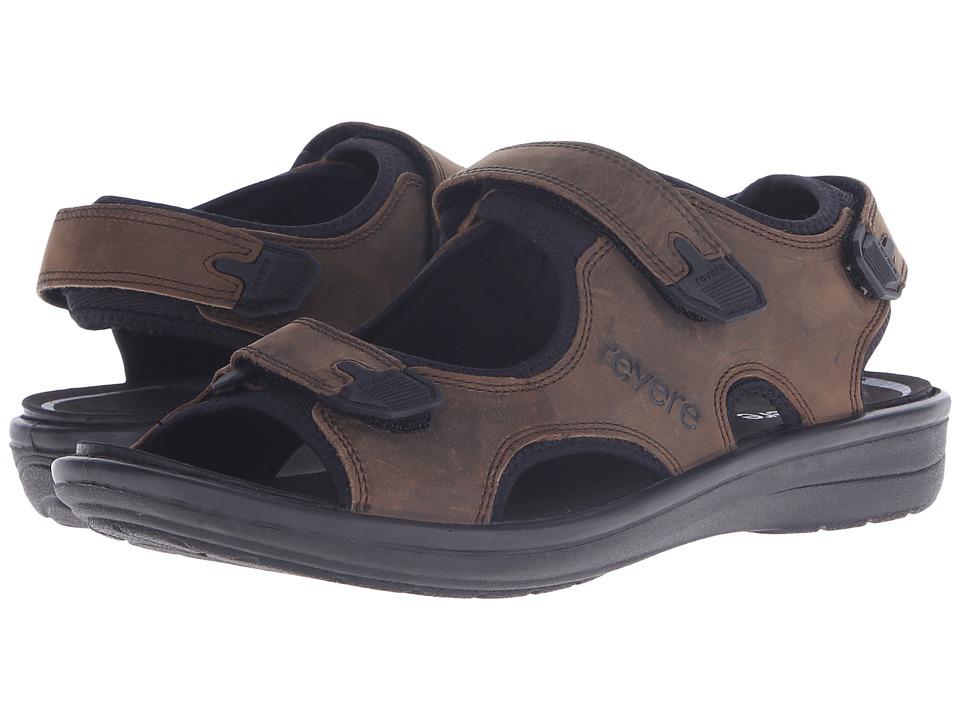 Revere Montana Crazy Horse Mens Flat Shoes