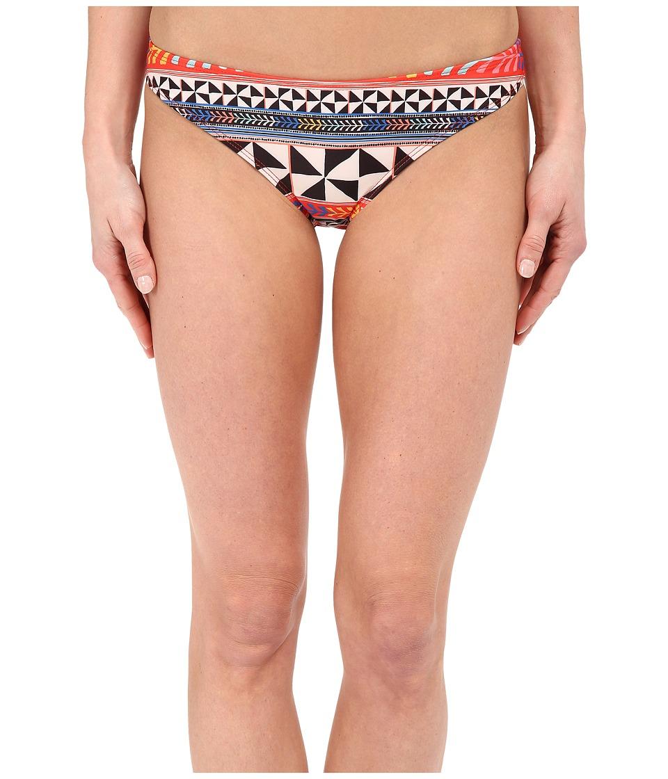 Mara Hoffman Classic Bottom Pinwheel Poppy Womens Swimwear