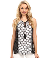 Christin Michaels - Charlie Printed Top