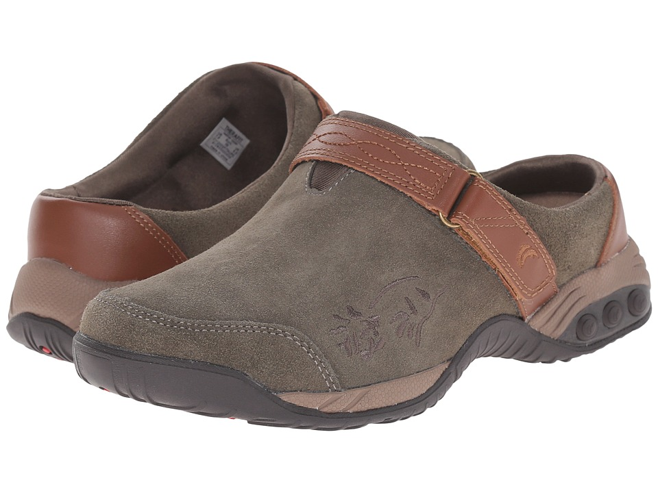 THERAFIT Austin Taupe Womens Slip on Shoes