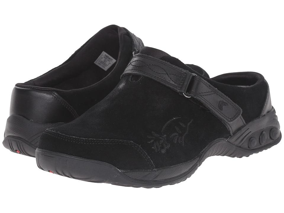 THERAFIT Austin Black Womens Slip on Shoes