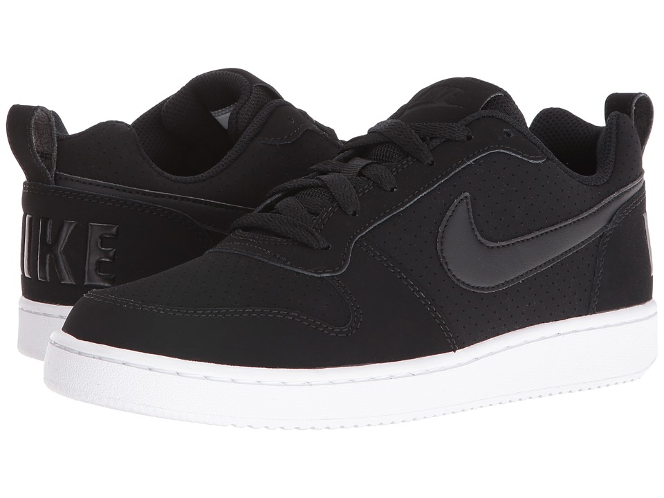 Nike Court Borough Low (Black/Black/White) Women