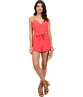 BB Dakota - Darcey Crepe Romper with Tie Belt