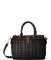 Rampage - Quilted Plaid Satchel