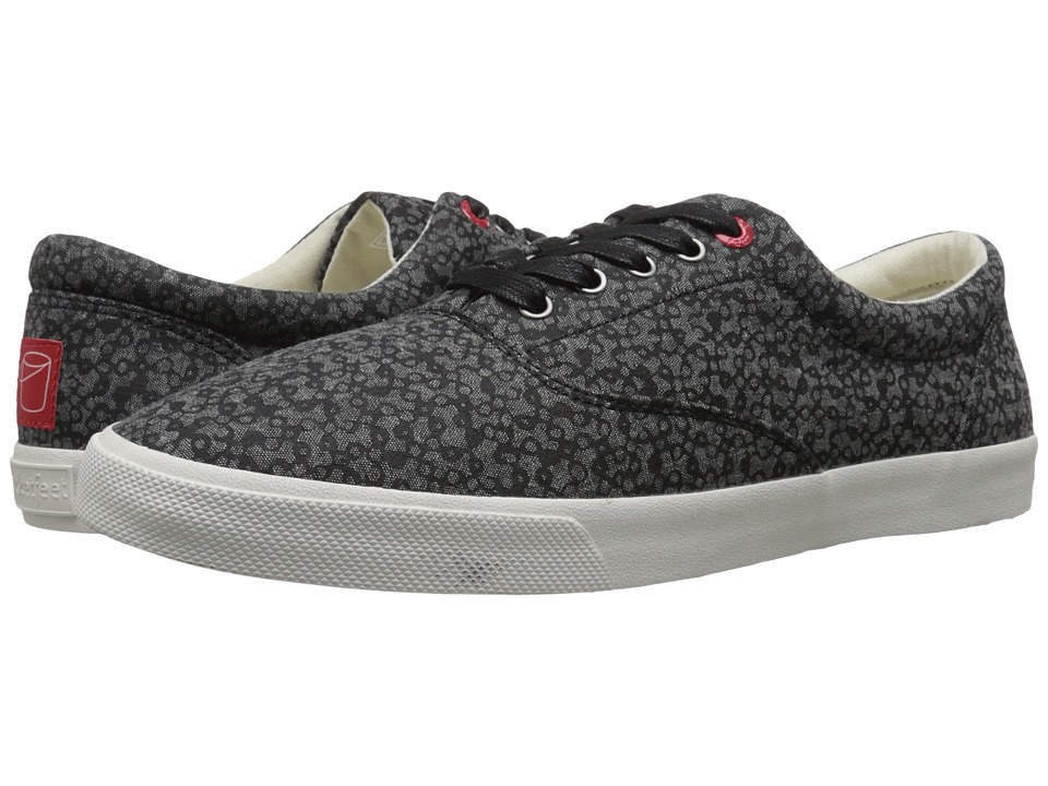 BucketFeet Mystery Black Mens Slip on Shoes