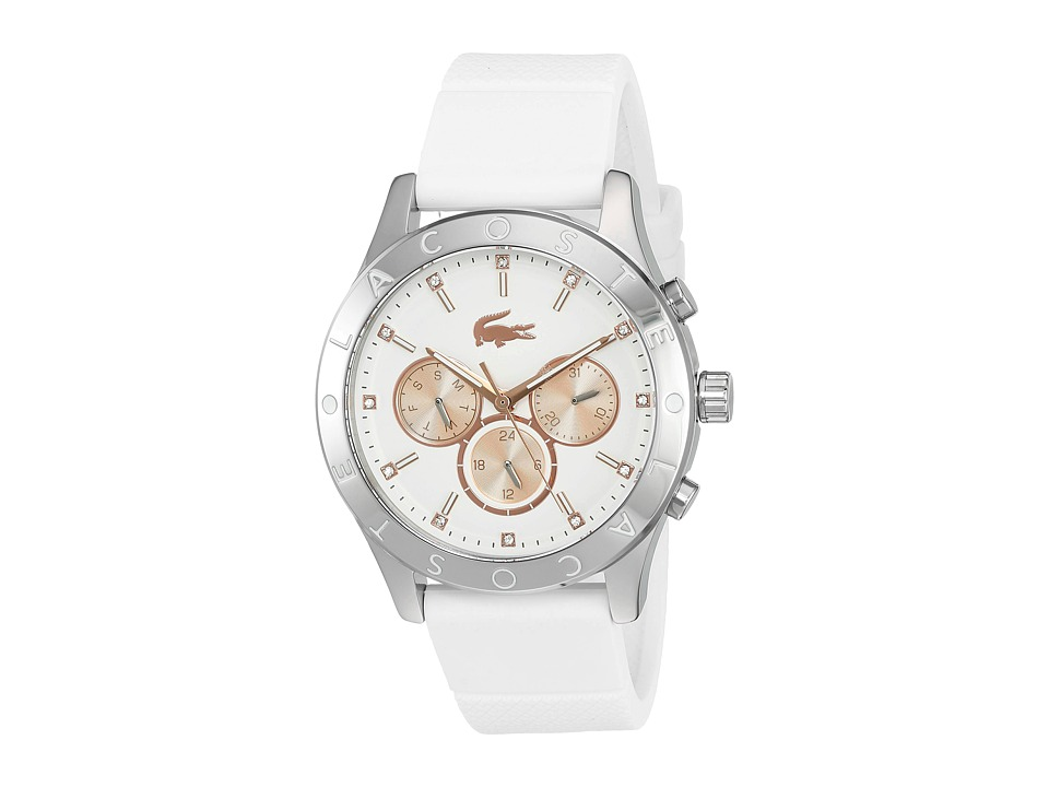 Lacoste 2000940 CHARLOTTE White/Rose Gold IP Watches