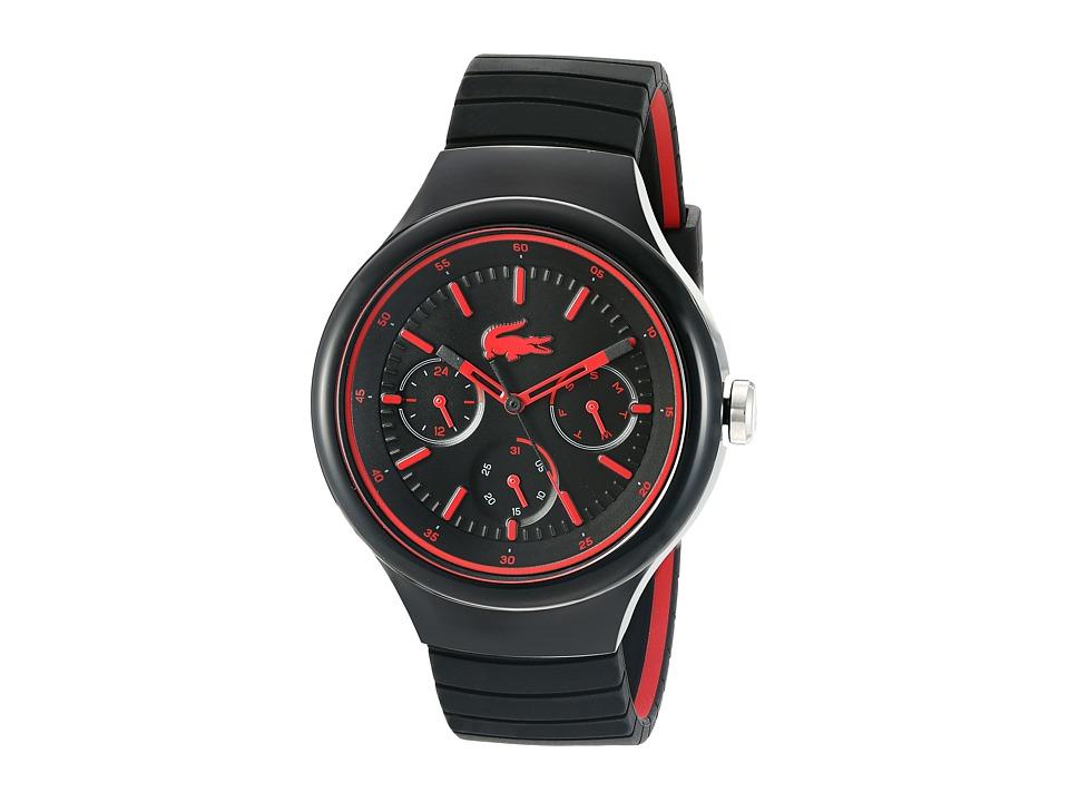 Lacoste 2010868 BORNEO Black/Red Watches