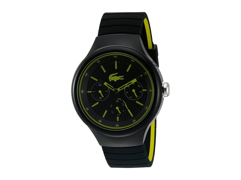 Lacoste 2010867 BORNEO Black/Yellow Watches