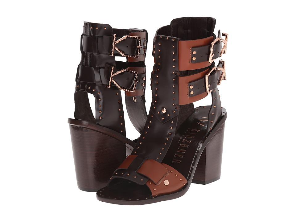 IVY KIRZHNER Harper Maroon High Heels