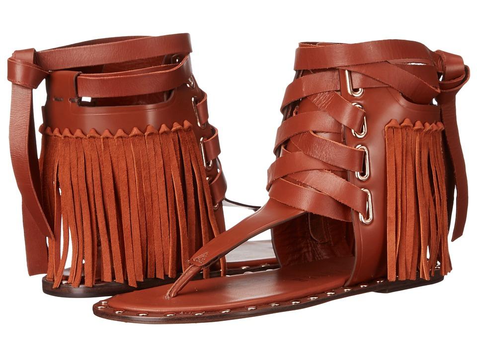 IVY KIRZHNER Solstice Rust/Tobbaco Womens Sandals