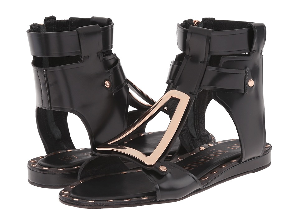 IVY KIRZHNER Intrepid Black Womens Sandals