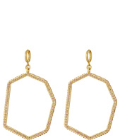 Vince Camuto - Huggie Statement Open Drop Earrings