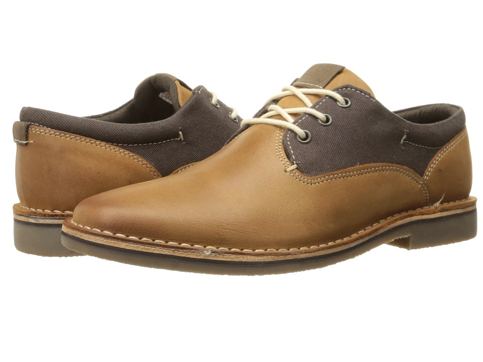 Steve Madden Harpoon Brown/Tan Mens Lace up casual Shoes