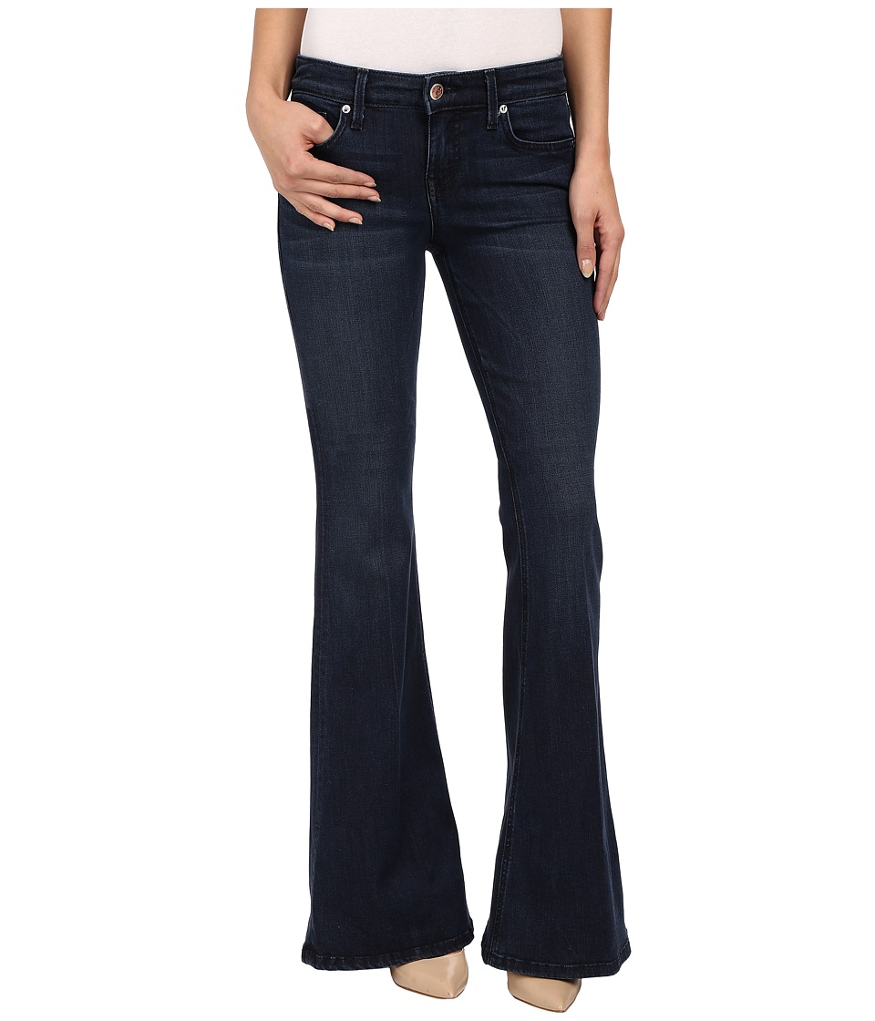 Level 99 Dahlia Flare in Ocean Ocean Womens Jeans