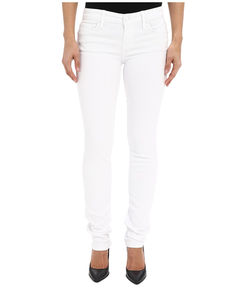 Level 99 Lily Skinny Straight in Pure White Pure White Womens Jeans