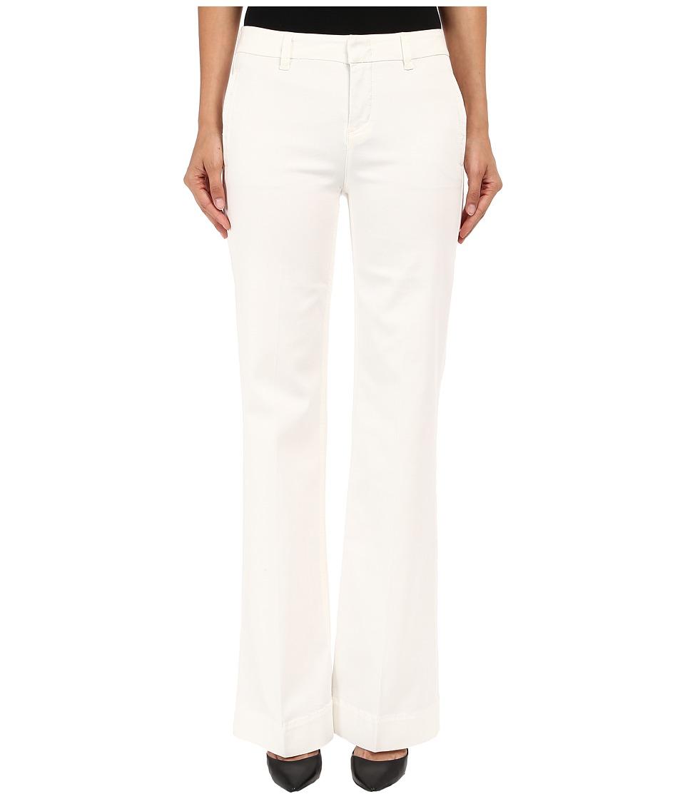 Level 99 Natasha High Waist Flare in Cream Cream Womens Casual Pants