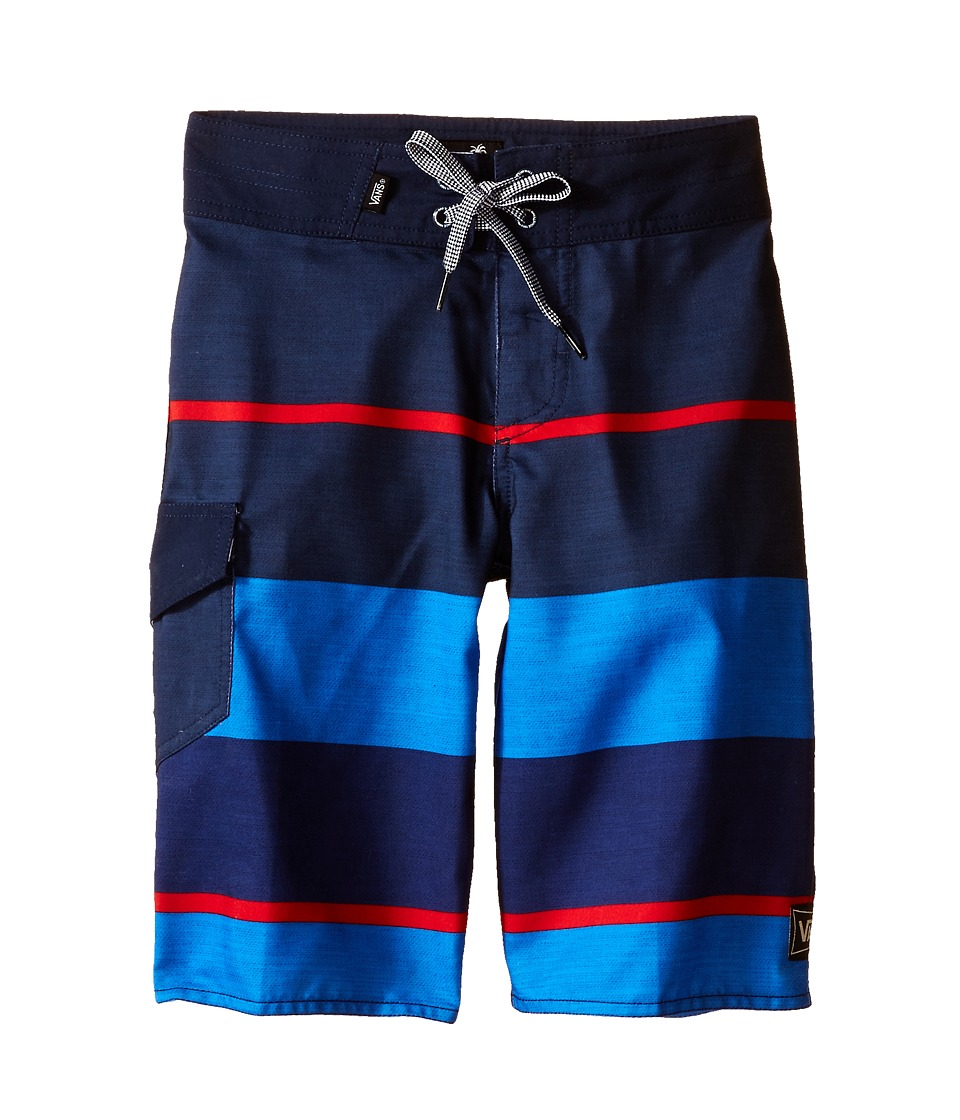 Vans Kids 56th Street Boardshorts Little Kids/Big Kids Dress Blues Boys Swimwear