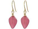 LAUREN Ralph Lauren Pink Sands Round Stone Stud Earrings