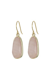 LAUREN Ralph Lauren - Pink Sands Organic Stone Drop Earrings