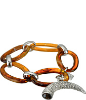 LAUREN Ralph Lauren - Canyon Chic Organic Link Pave Horn Bracelet