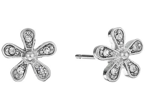 LAUREN Ralph Lauren Small Flower Stud Earrings - Pearl/Crystal