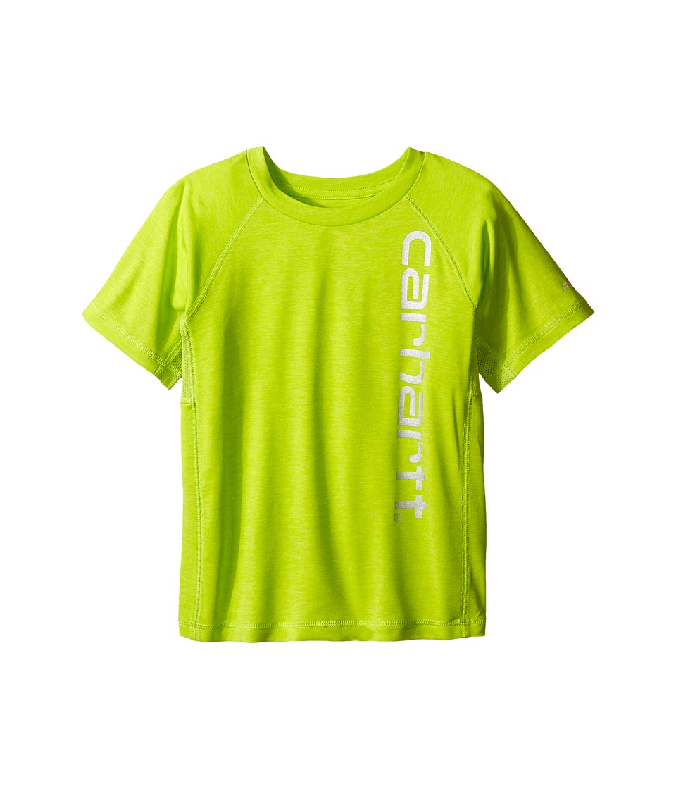 Carhartt Kids Force Raglan Tee Toddler Sour Apple Heather Boys T Shirt