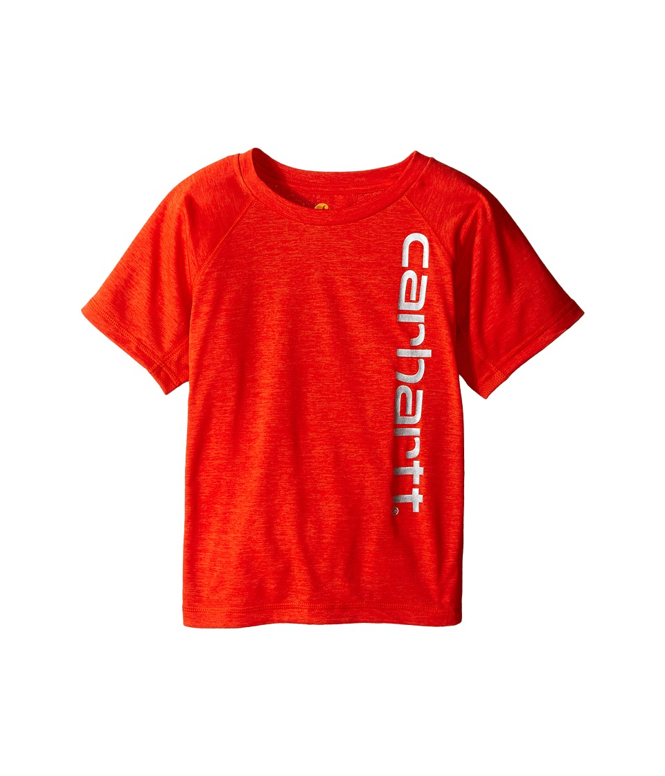 Carhartt Kids Force Raglan Tee Toddler Orange.com Heather Boys T Shirt