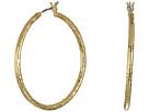 LAUREN Ralph Lauren Bali Large Organic Hoop Earrings