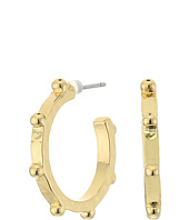 LAUREN Ralph Lauren - Bali Medium Organic Stud Hoop Earrings