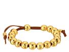 LAUREN Ralph Lauren Bali 9 Suede Metal Bead Bracelet