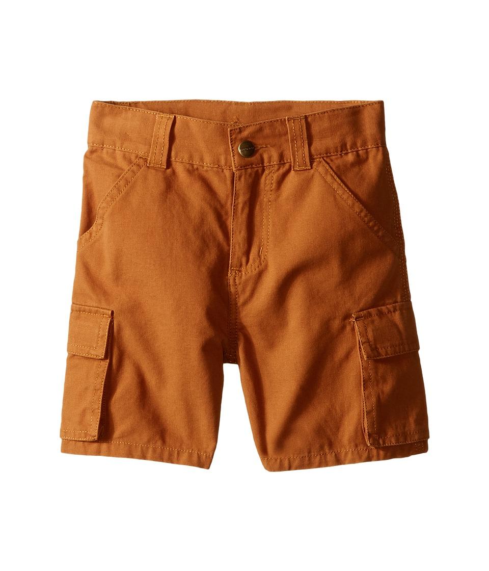 Carhartt Kids Canvas Cargo Shorts Toddler Carhartt Brown Boys Shorts