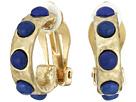 LAUREN Ralph Lauren Capri Small Cabachon Clip Earrings