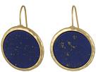 LAUREN Ralph Lauren Summer Chic Stone Disk Drop Earrings