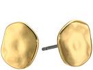 LAUREN Ralph Lauren Amalfi Coast Small Organic Disk Stud Earrings