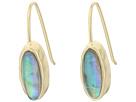 LAUREN Ralph Lauren Coastal Blues Small Oval Stone Drop Earrings
