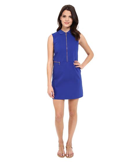 Lacoste L!ve Sleeveless Zip Front Collar Dress